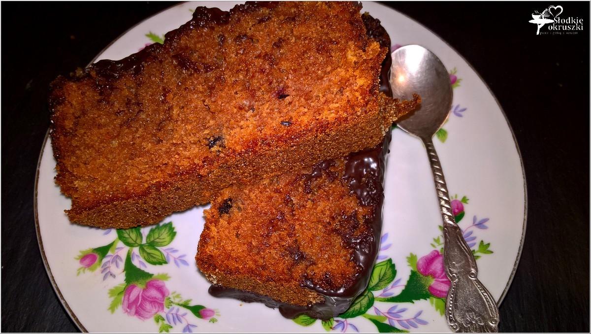 Ciasto czekoladowe wg Nigelli (z konfiturą pomarańczową) (2)