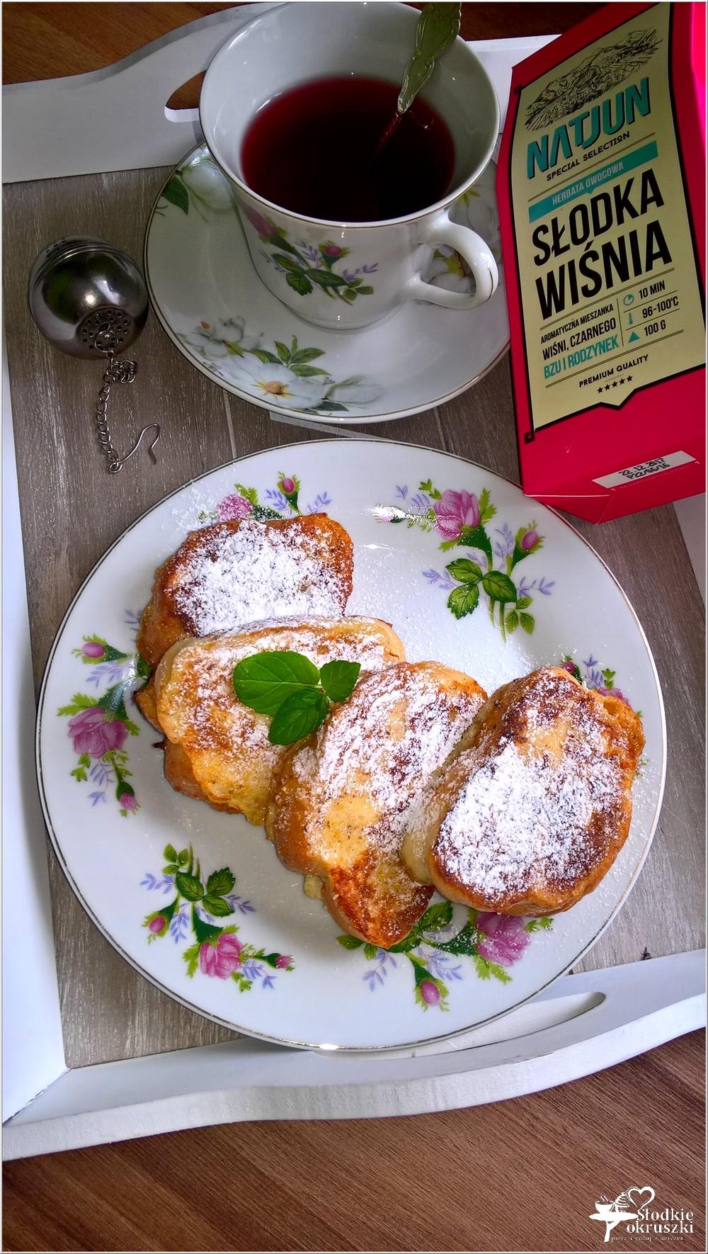 Cynamonowa chałka po francusku i łyk słodkiej wiśni (1)