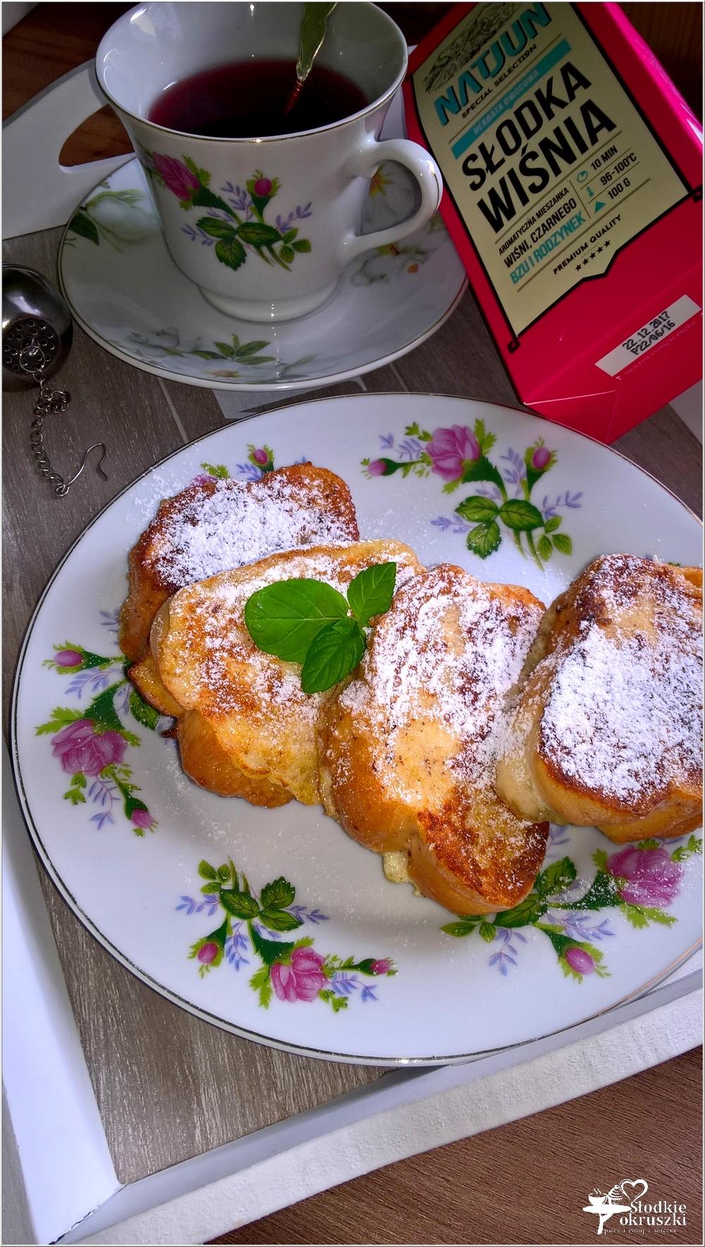 Cynamonowa chałka po francusku i łyk słodkiej wiśni (2)