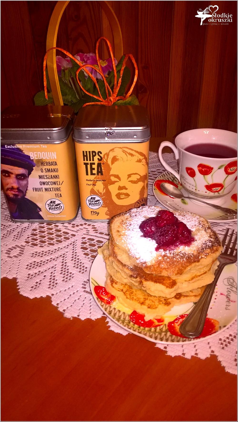 Gruszkowe placuszki z kaszy manny + kilka słów o herbacie (4)