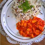 Kurczak w paprykowo-pomidorowym sosie (na bazie ajvaru)