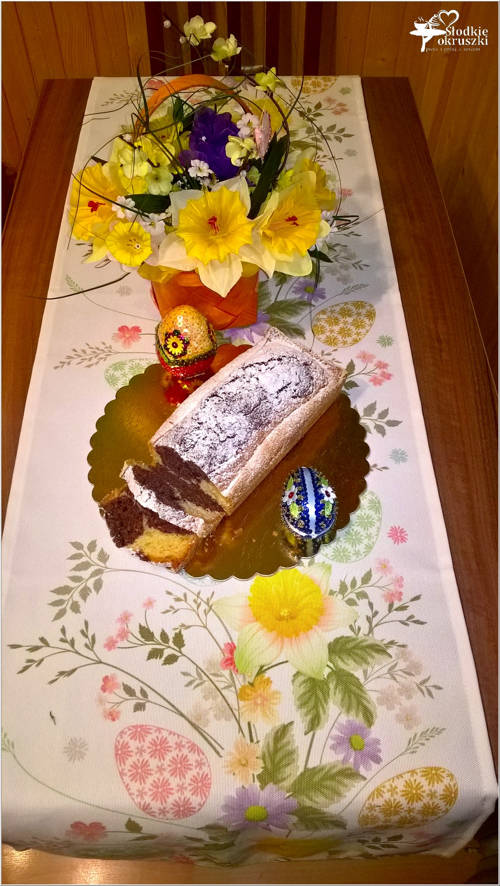 Szybka babka śmietankowo-kakaowa na świąteczny stół (2)