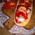 Szybka zapiekanka z suszonymi pomidorami