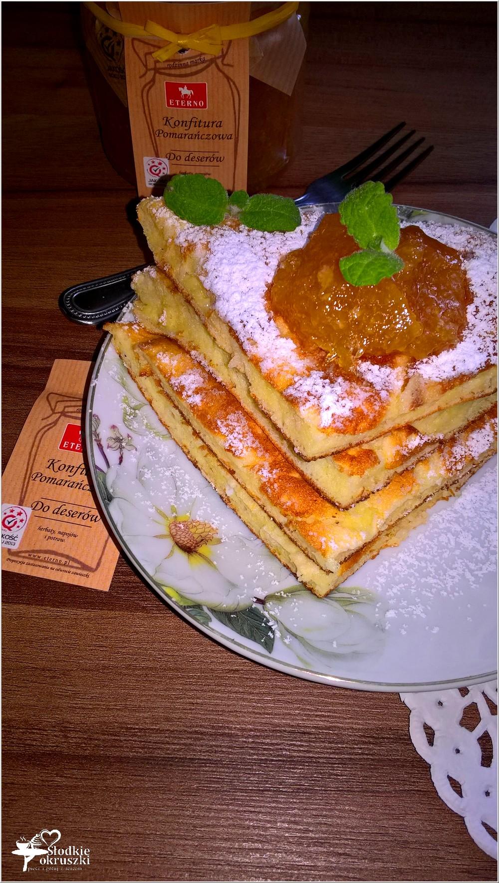 Waniliowo-serowy omlet z konfiturą pomarańczową (2)