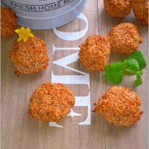 Amarantusowe kokosanki. Zdrowe ciasteczka (1)