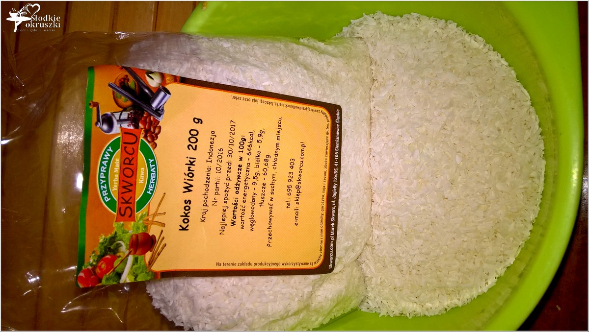 Amarantusowe kokosanki. Zdrowe ciasteczka (5)