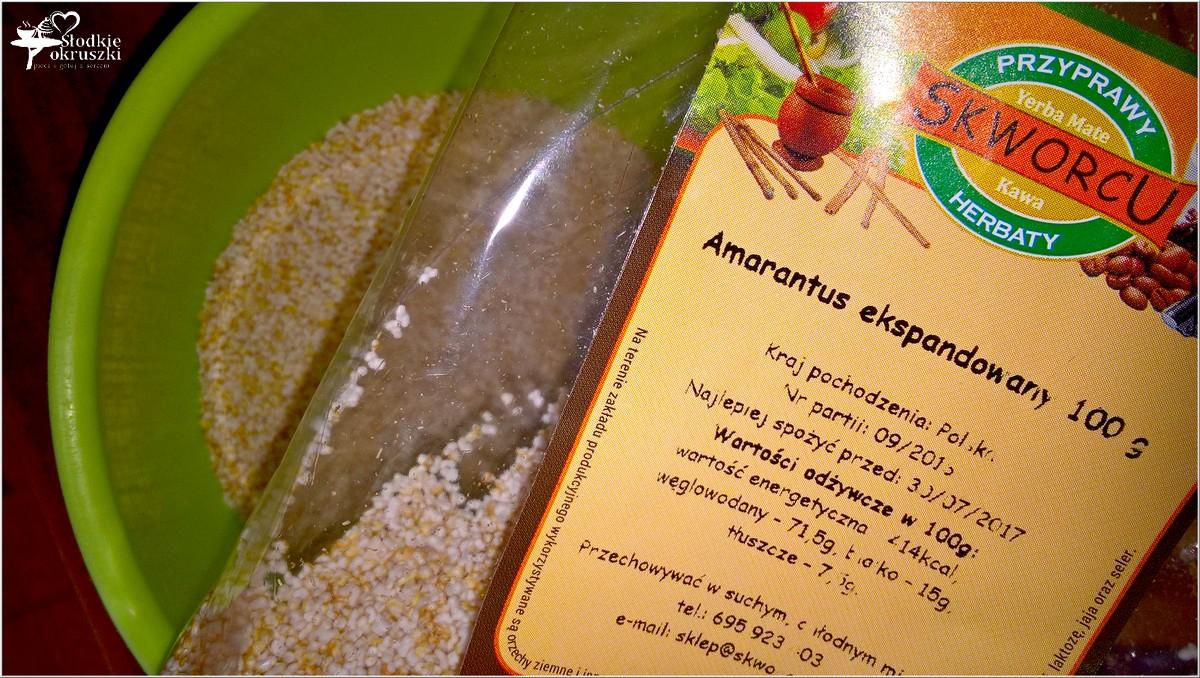 Amarantusowe kokosanki. Zdrowe ciasteczka (6)