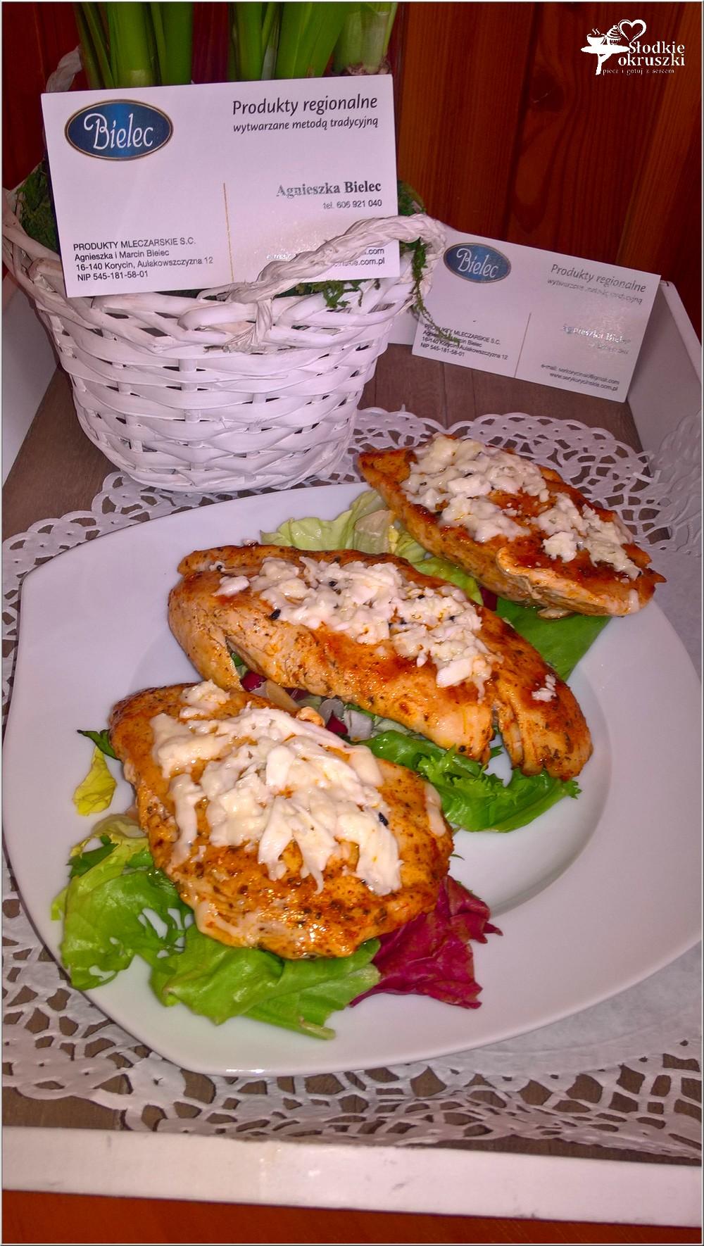 Grillowane piersi z kurczaka z serem korycińskim (1)