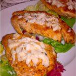 Grillowane piersi z kurczaka z serem korycińskim