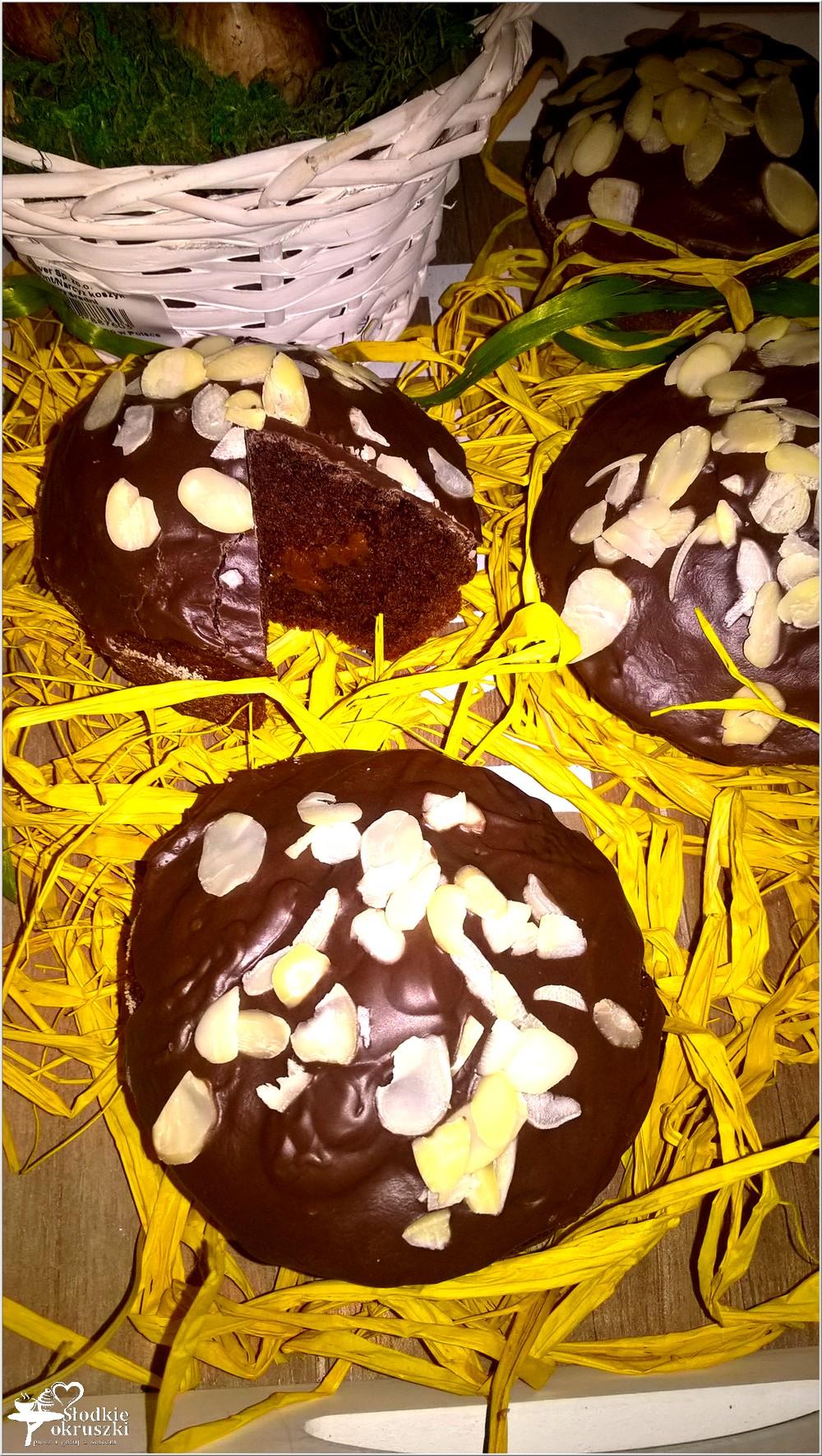 Mini babki z czekoladową krówką (3)