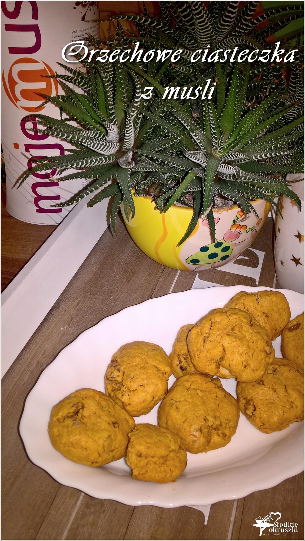 Orzechowe ciasteczka z musli (szybkie) (2)