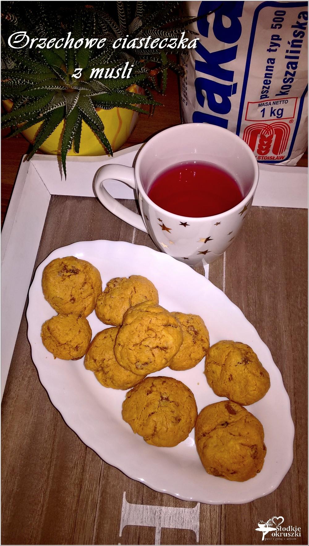 Orzechowe ciasteczka z musli (szybkie) (4)