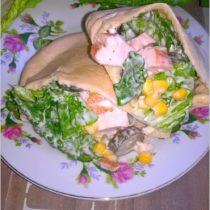 Pity z wędzonym kurczakiem w domowym sosie czosnkowym (3)