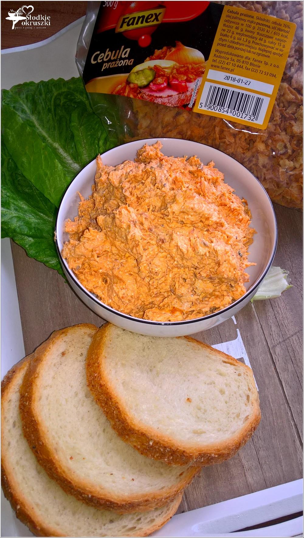 Rybna kremowa pasta kanapkowa z prażoną cebulką (1)