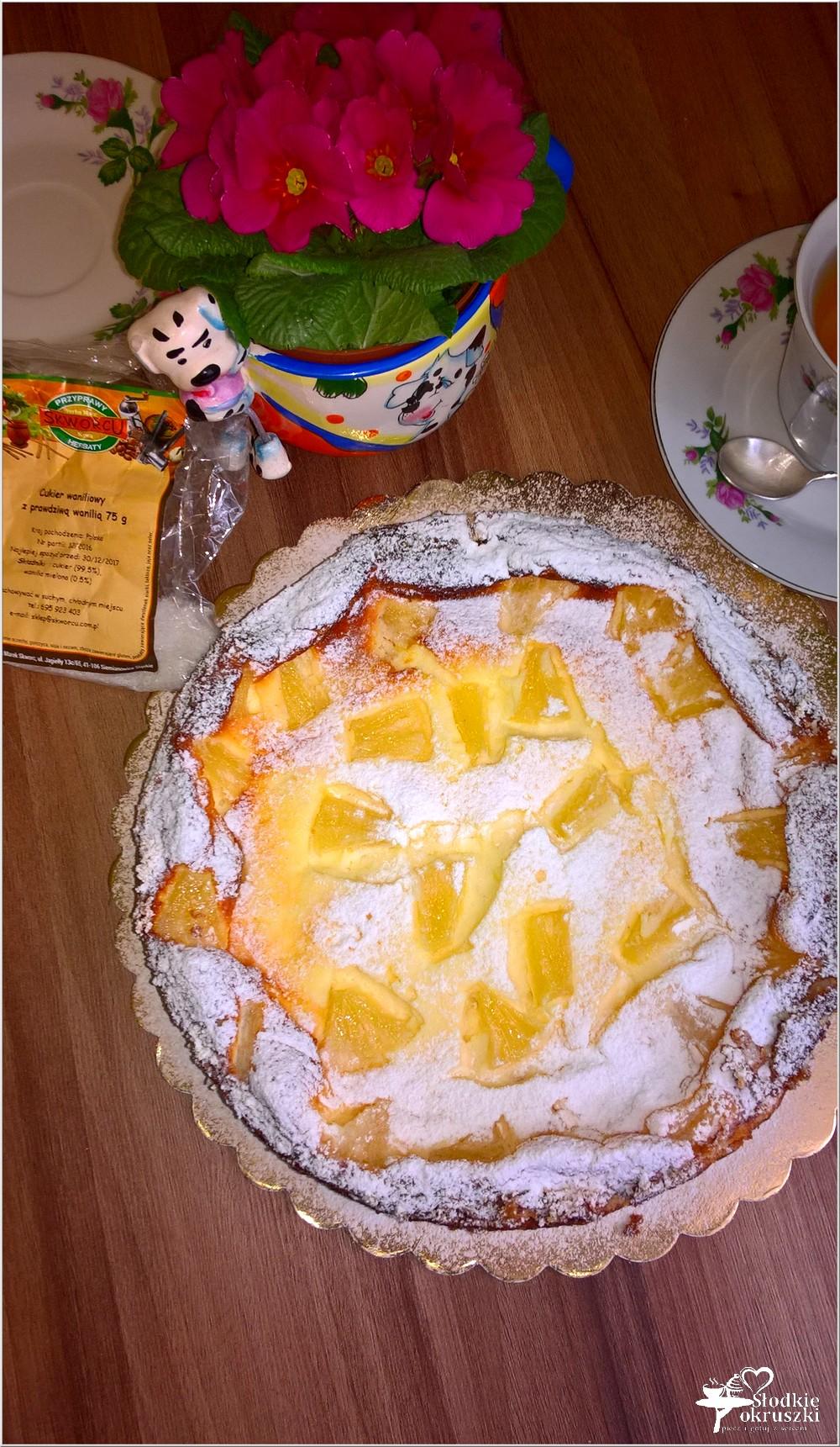 Sernik z ananasem na słonawym spodzie (5)