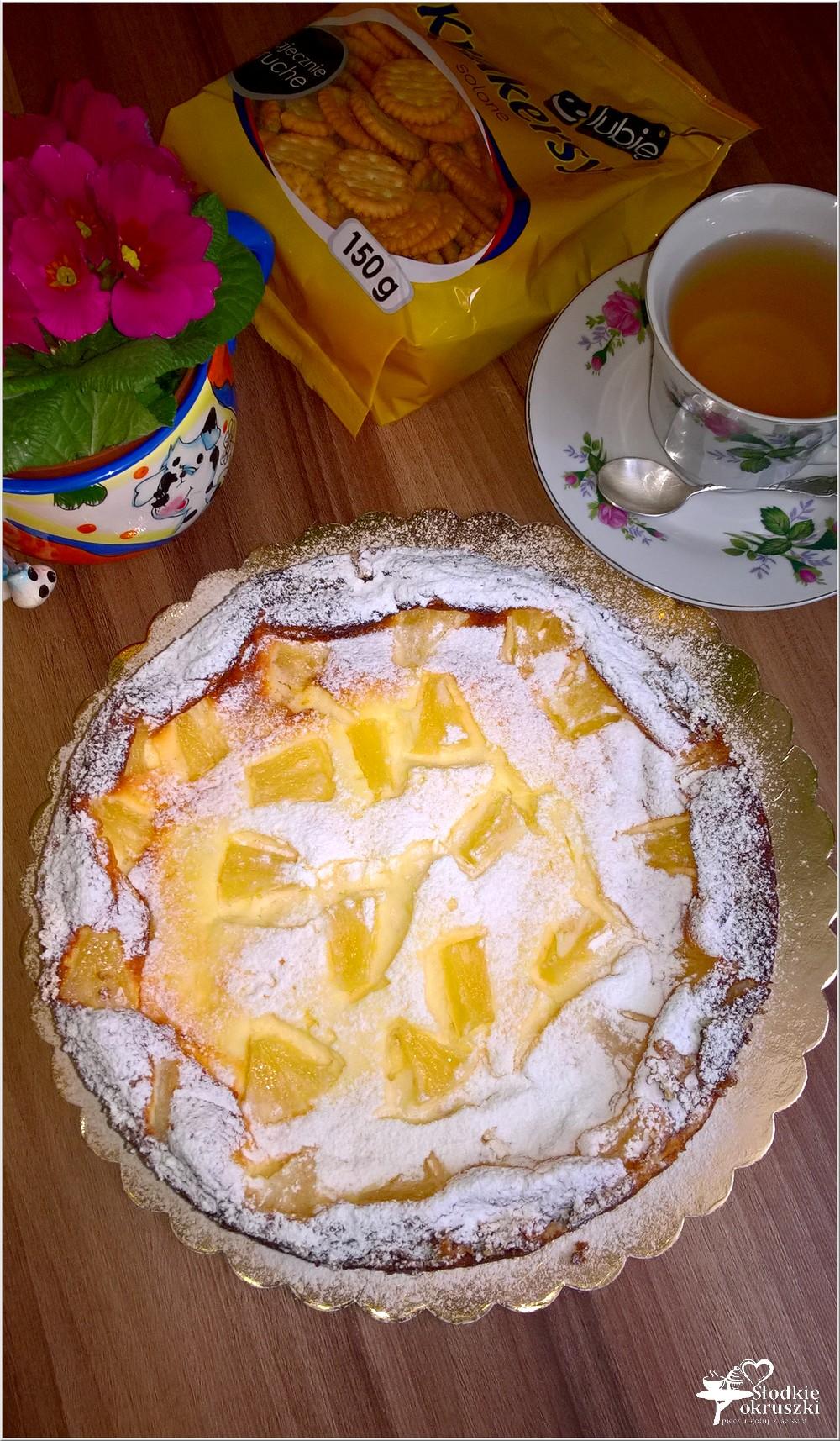 Sernik z ananasem na słonawym spodzie (6)