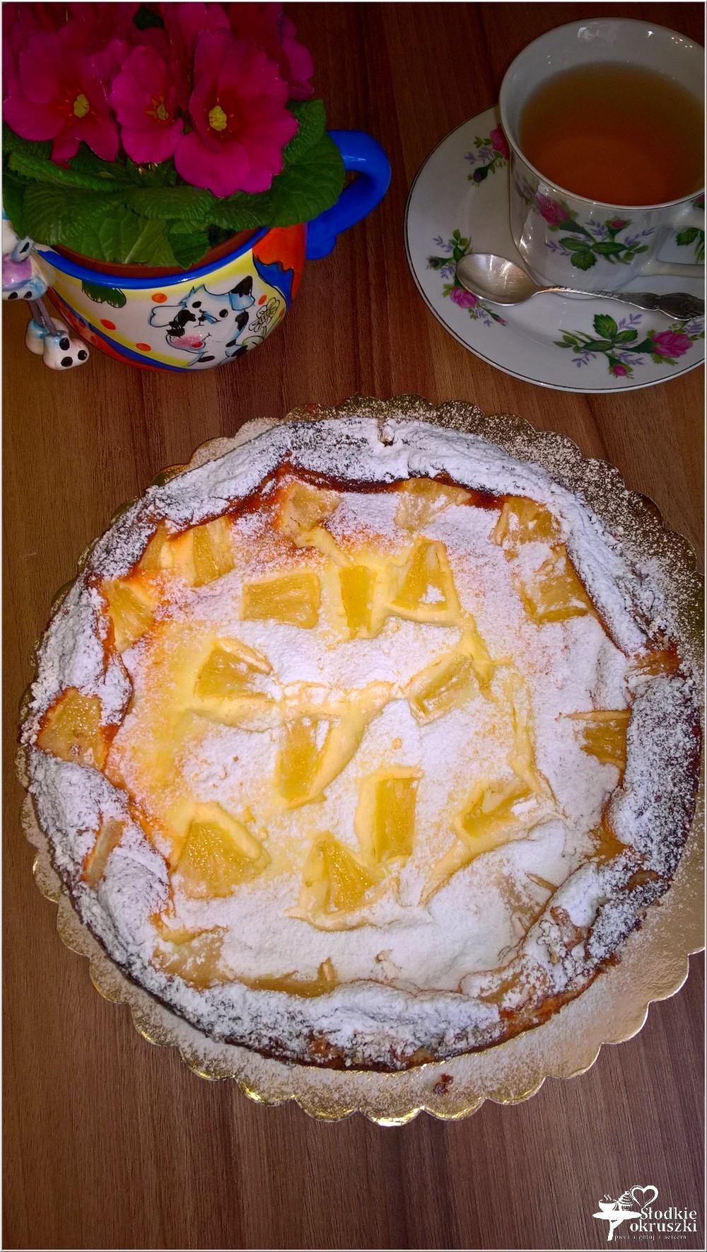 Sernik z ananasem na słonawym spodzie (7)