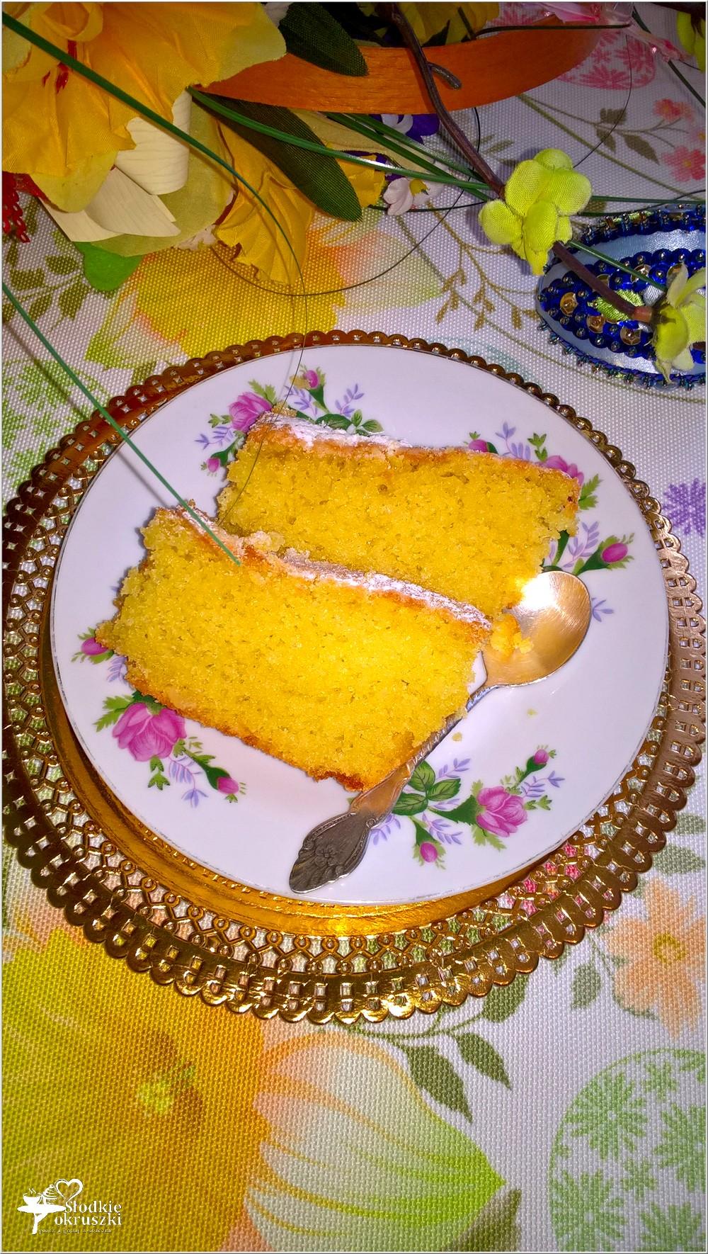Cytrynowa babka z pomarańczową skórką (1)