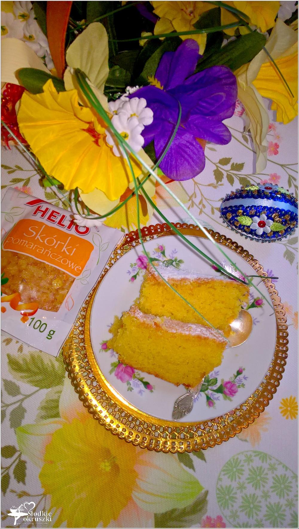 Cytrynowa babka z pomarańczową skórką (2)
