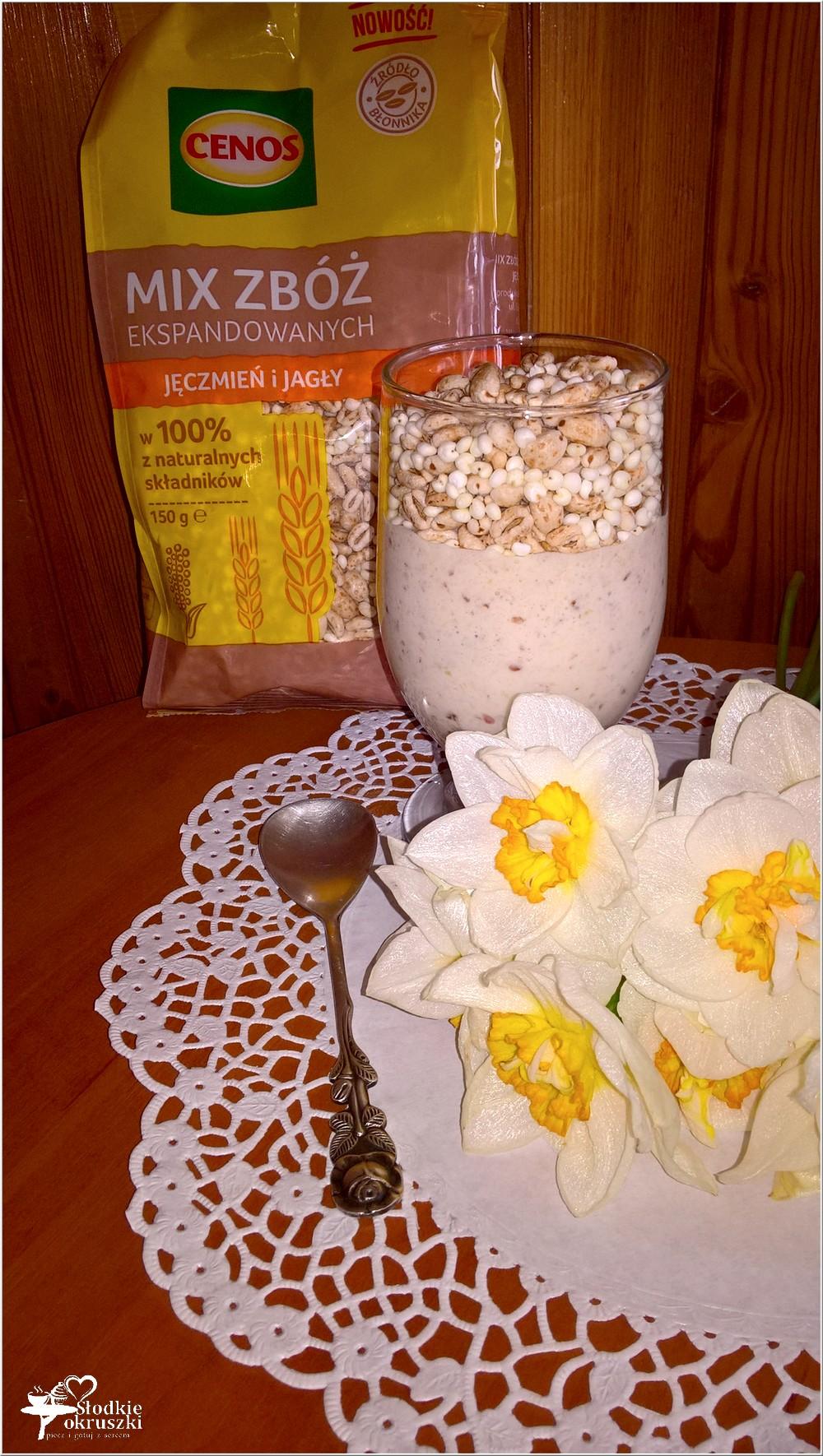 Domowy owocowo-daktylowy jogurt z ekspandowanymi zbożami (2)