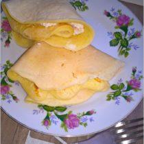 Naleśniczki z białym serem na słodko (1)