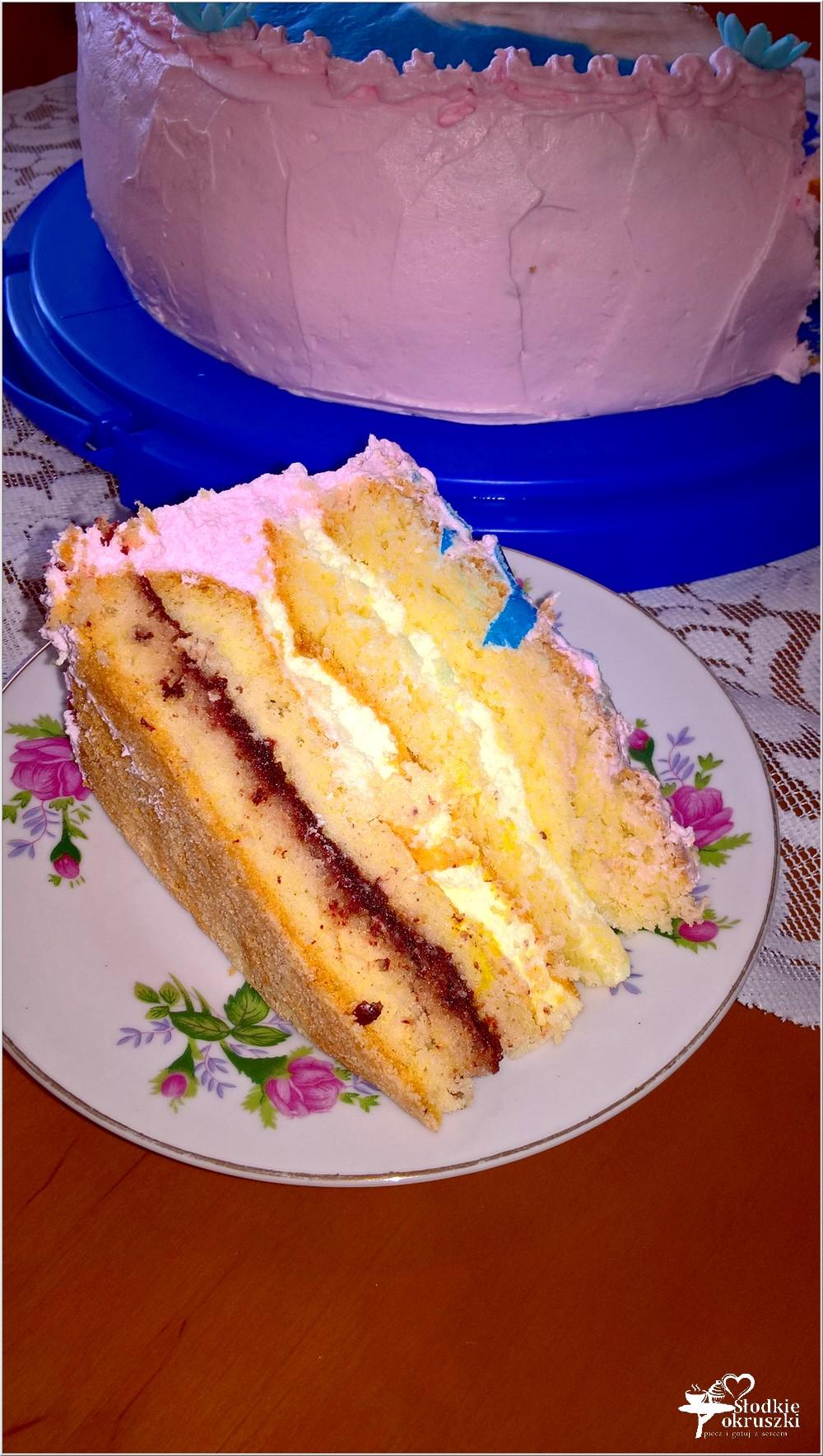 Truskawkowo-cytrynowy tort na 5 urodziny (4)