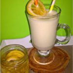 Waniliowo-rumowy shake z cytrynową nutą