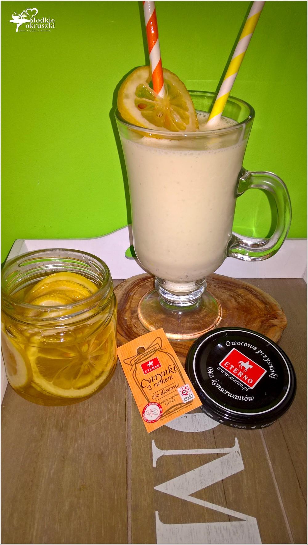 Waniliowo-rumowy shake z cytrynową nutą (2)