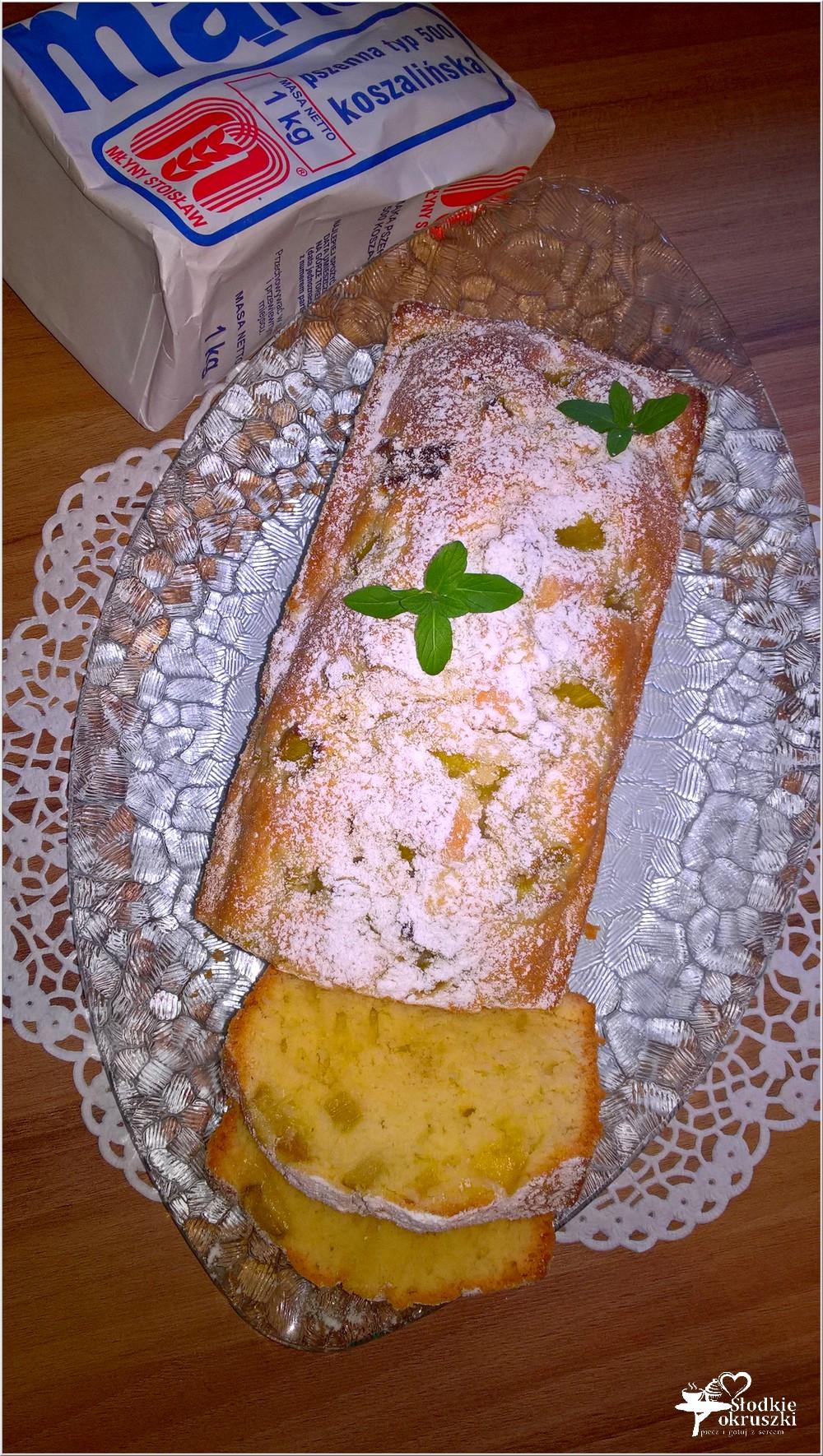 Proste ciasto z rabarbarem. Przepis (1)