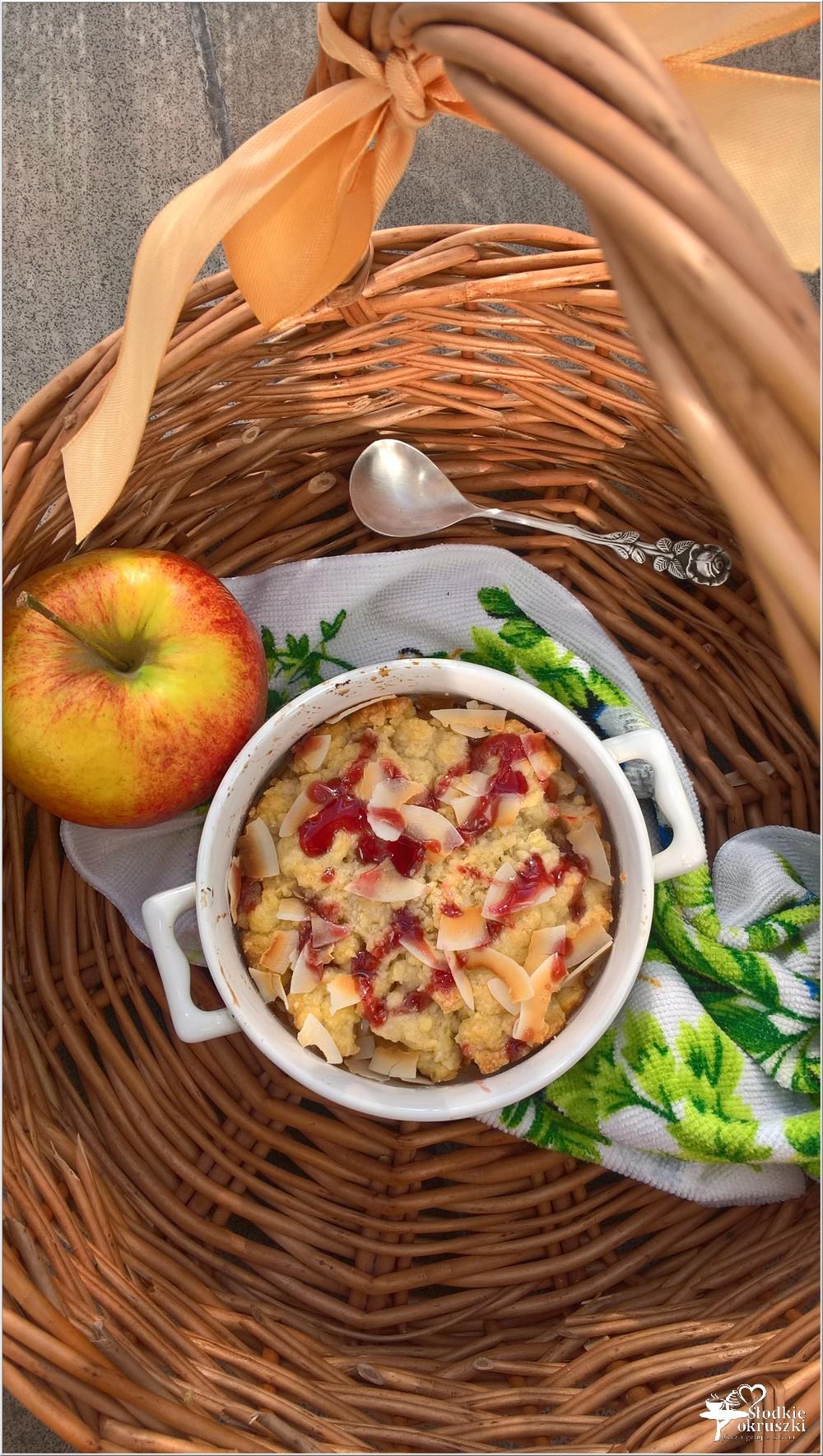 Jabłka pod (o)mega kruszonką (2)