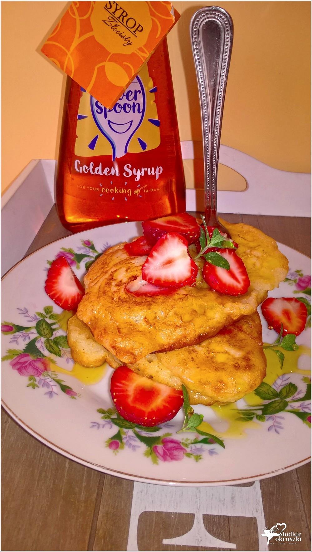 Najlepsze placuszki z truskawkami (na maślance) (3)