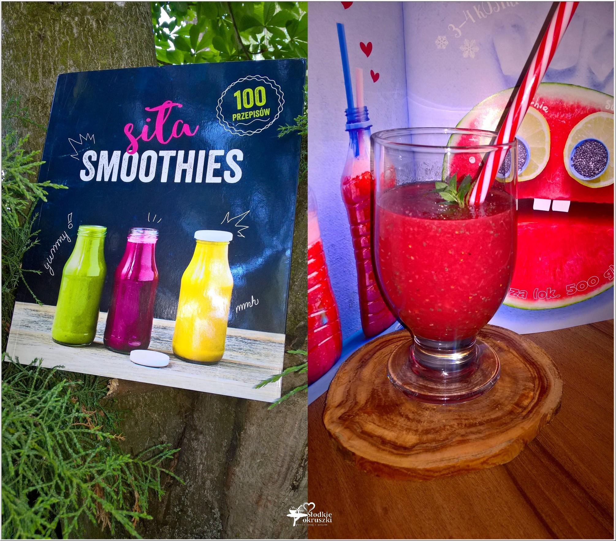 Siła smoothies - recenzja + przepis na Księżniczkę Arbuzję (1)