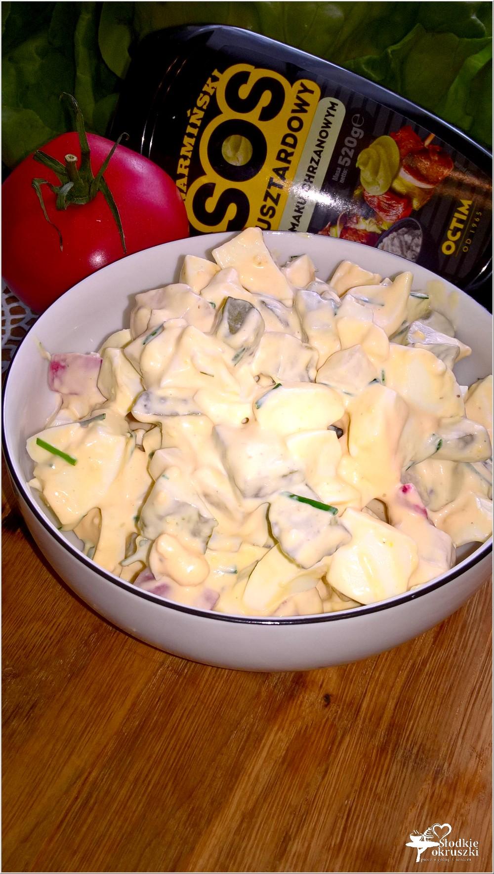 Wyrazista w smaku sałatka z sosem musztardowo-chrzanowym (2)