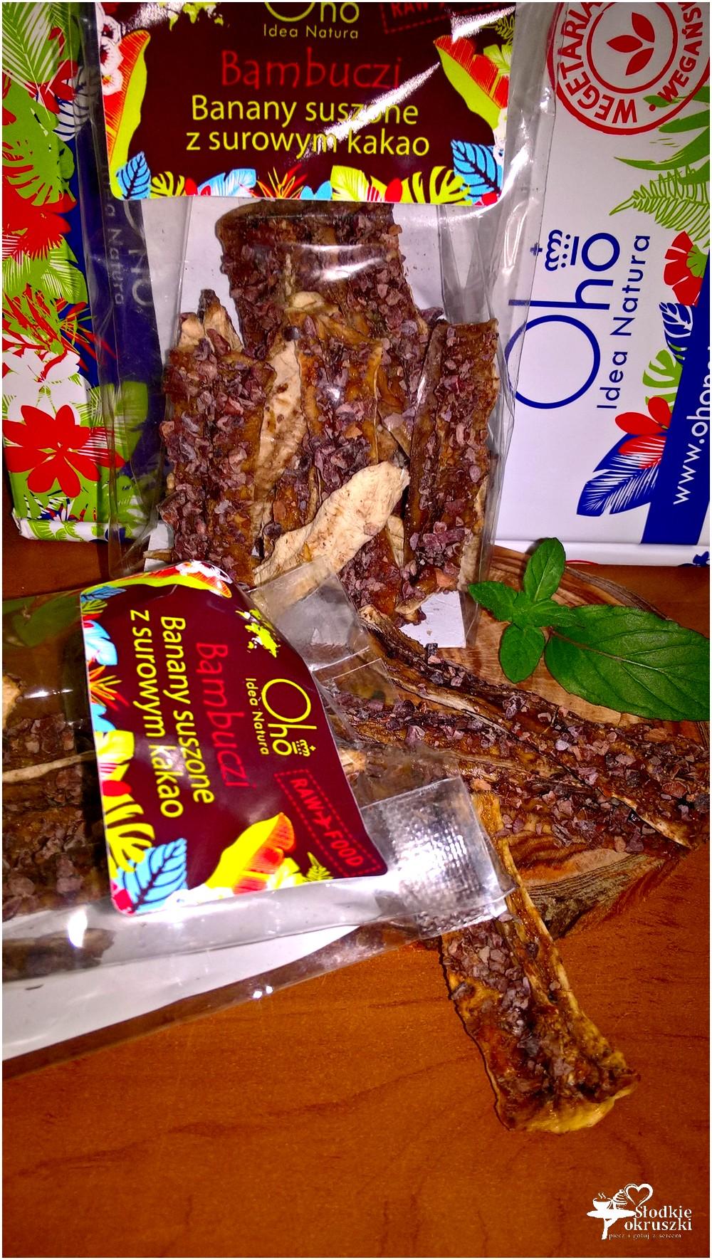 Zdrowie i smak. Bambuczi, czyli suszone banany z surowym kakao (1)