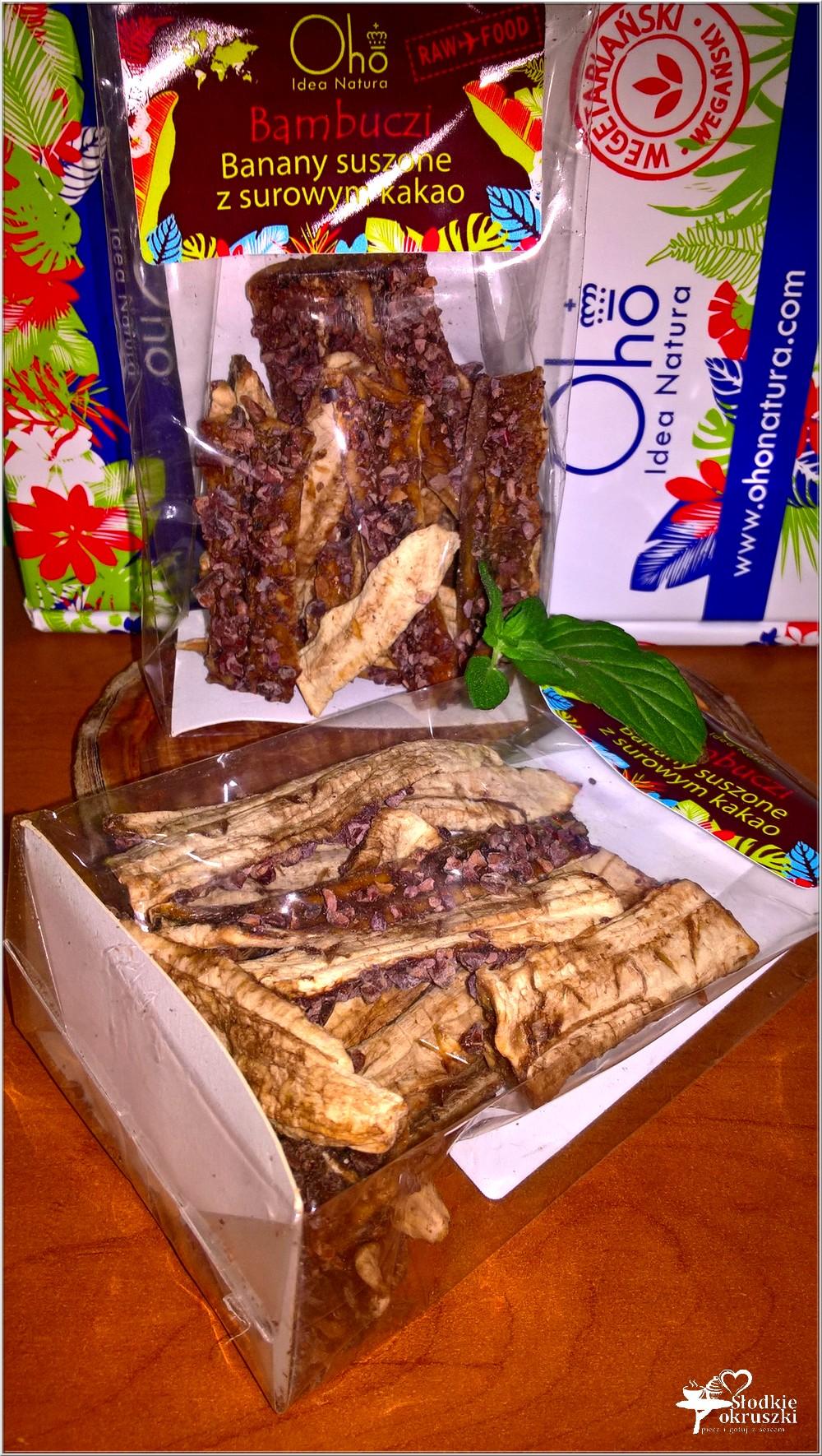 Zdrowie i smak. Bambuczi, czyli suszone banany z surowym kakao (2)