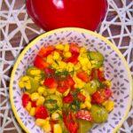 Błyskawiczna sałatka z oliwkami