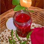 Dżem truskawkowy z cytrynowo-miętową nutą