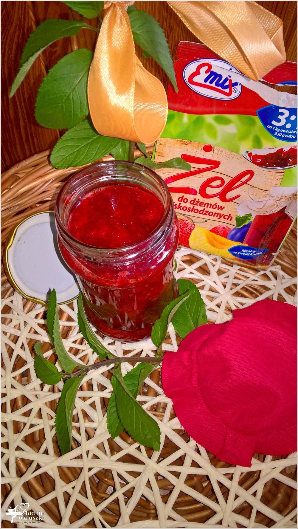 Dżem truskawkowy z cytrynowo-miętową nutą (2)