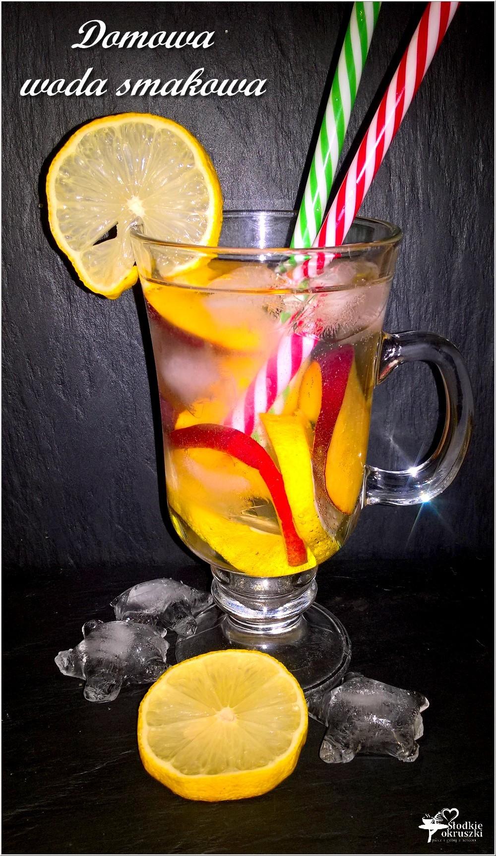 Domowa woda smakowa 1