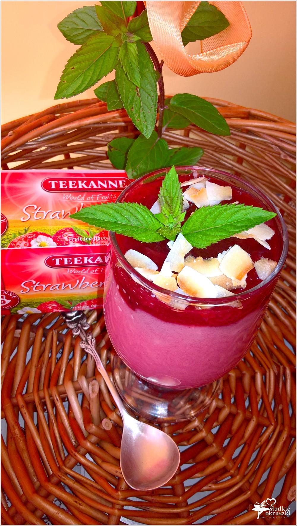 Kremowy deser herbaciano-owocowy (2)