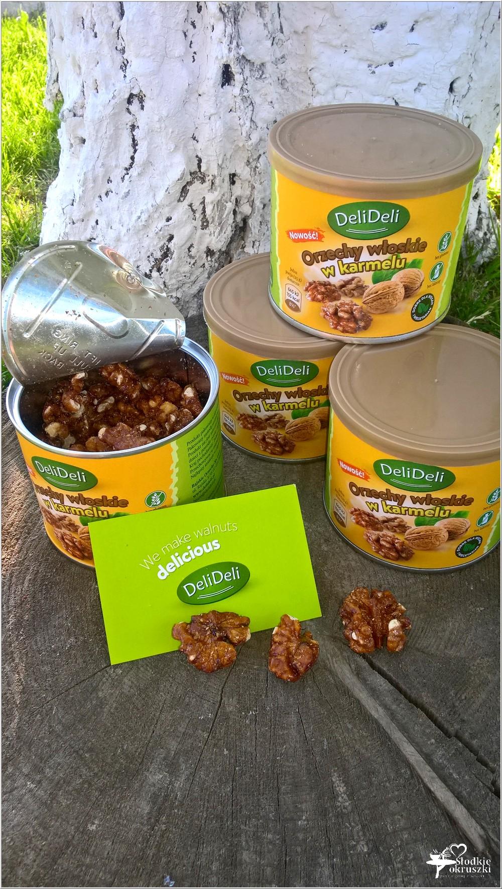 Orzechy włoskie w karmelu DeliDeli - idealne na każdą okazję (2)