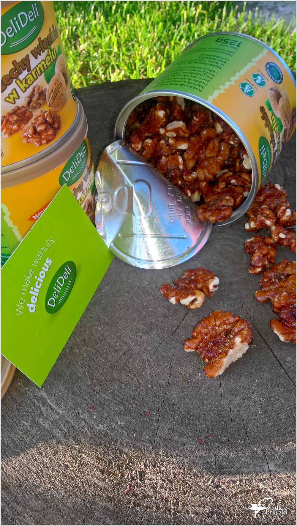 Orzechy włoskie w karmelu DeliDeli - idealne na każdą okazję (3)