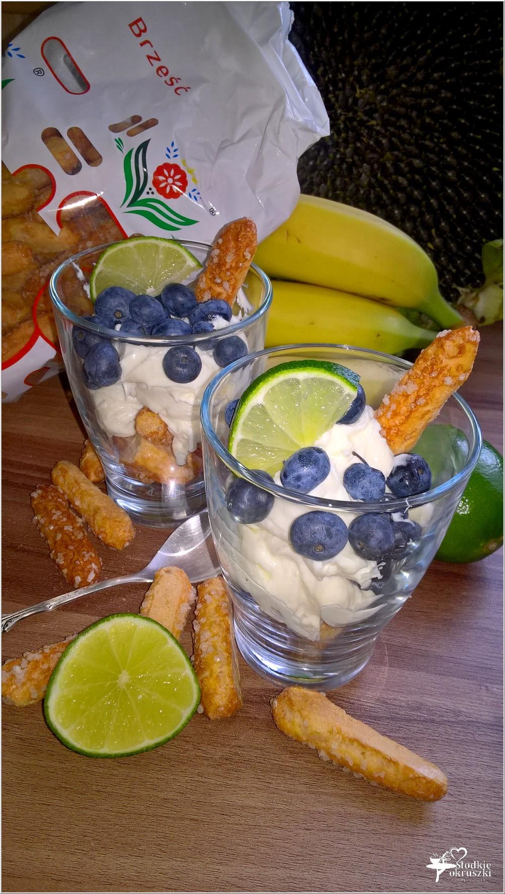 Szybki deser karmelowo-limonkowy (na słomce ptysiowej) (2)