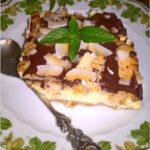 Gotowany waniliowo – śmietankowy sernik (na herbatnikach)