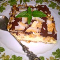 Gotowany waniliowo - śmietankowy sernik (na herbatnikach) (1)
