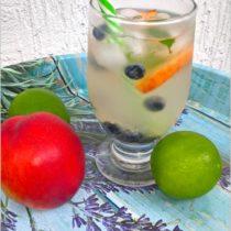 Miodowo-limonkowa woda smakowa (z całymi owocami) (4)