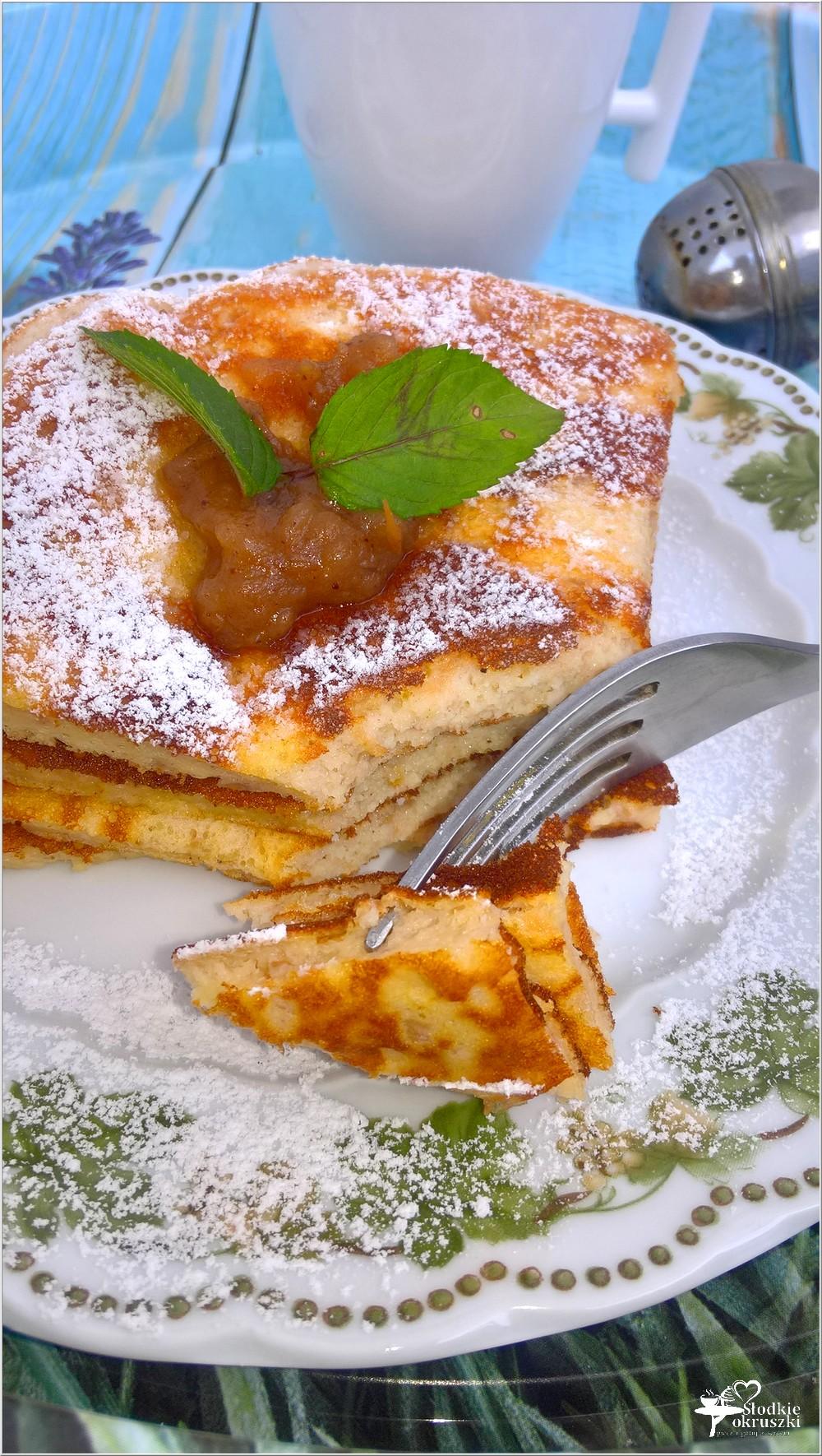 Szarlotkowy omlet z aromatyczną zieloną herbatą (2)