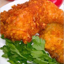 Chrupiące nóżki z kurczaka w kukurydzianej panierce. I kilka słów o Frisco