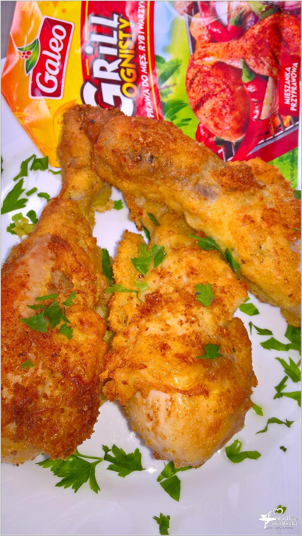 Chrupiący pikantny kurczak (z rosołu) (2)