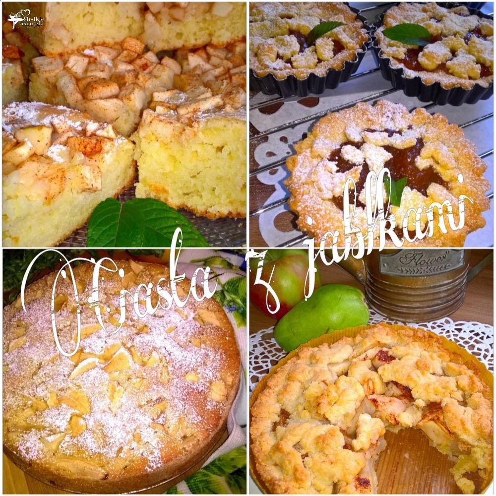 Ciasta z jabłkami